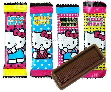 chocolatinas hello kitty