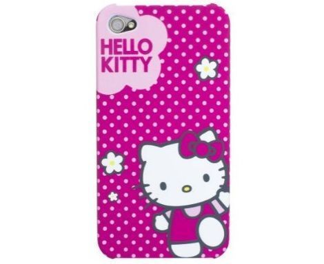 funda kitty iphone rosa