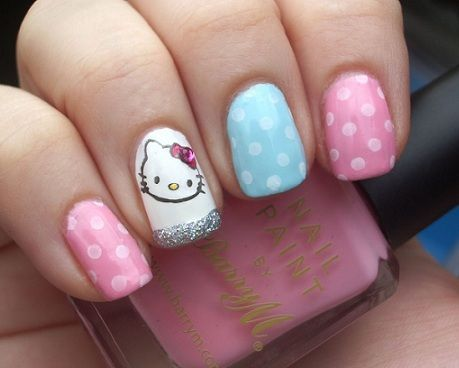 hello kitty unas colores