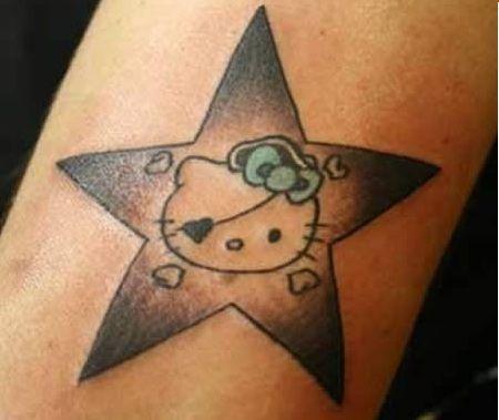 imagenes hello kitty tatuaje
