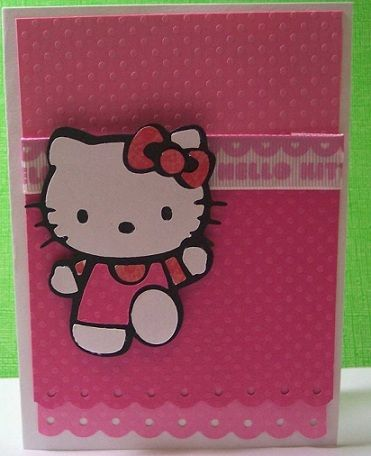 invitaciones hello kitty originales casera lazo