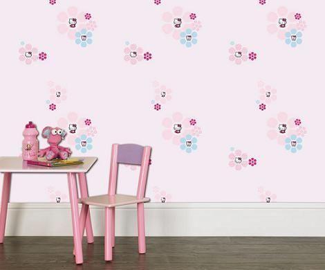 Papel pintado Hello Kitty