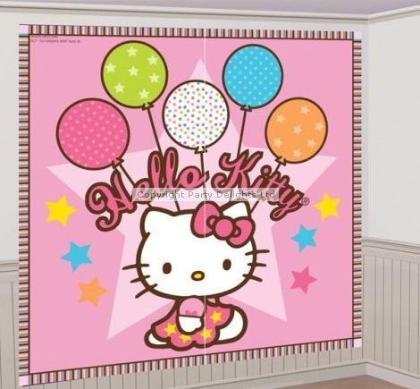 pared hello kitty