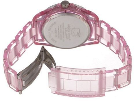 reloj hello kitty rosa correa