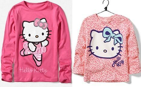 ropa hello kitty zara camiseta larga