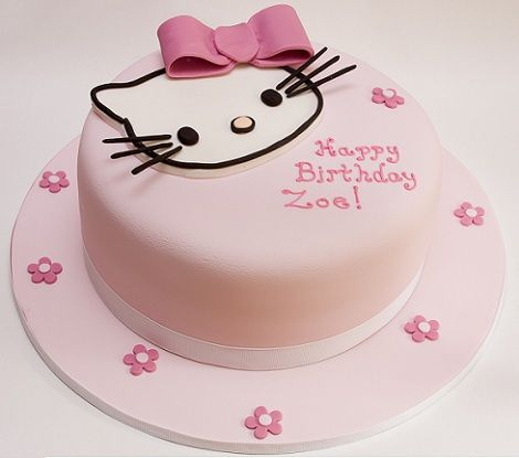 tarta hello kitty sombrero