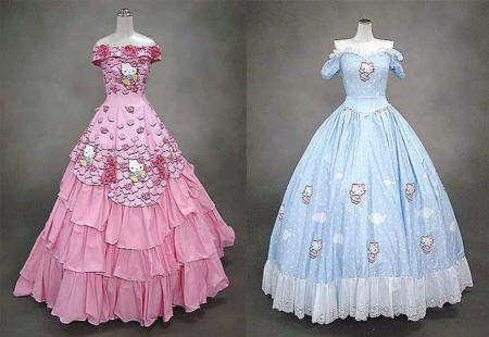 hello kitty vestidos fiesta
