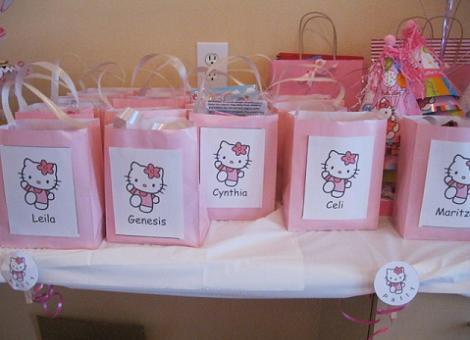 Bolsas de cumpleaños Hello Kitty