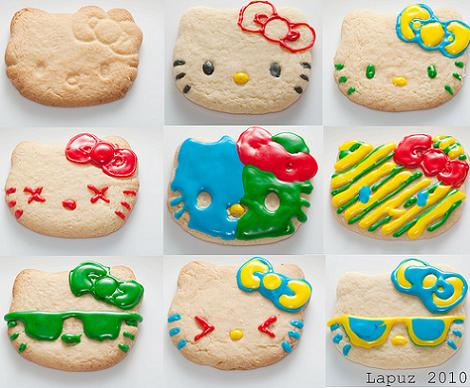Galletas de Hello Kitty