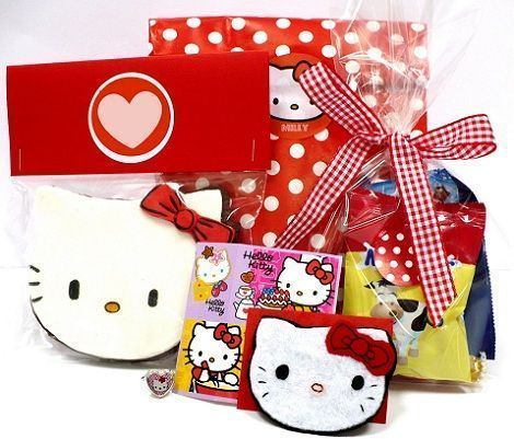 hello kitty cumpleanos bolsas