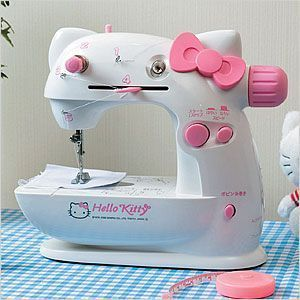 hello kitty maquina coser