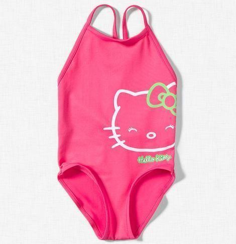 hello kitty rosa bañador