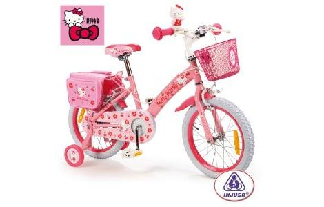 hello kitty rosa bicicleta
