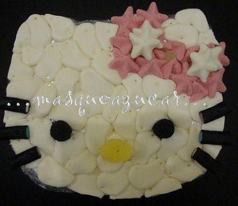 tarta hello kitty chuches huevos