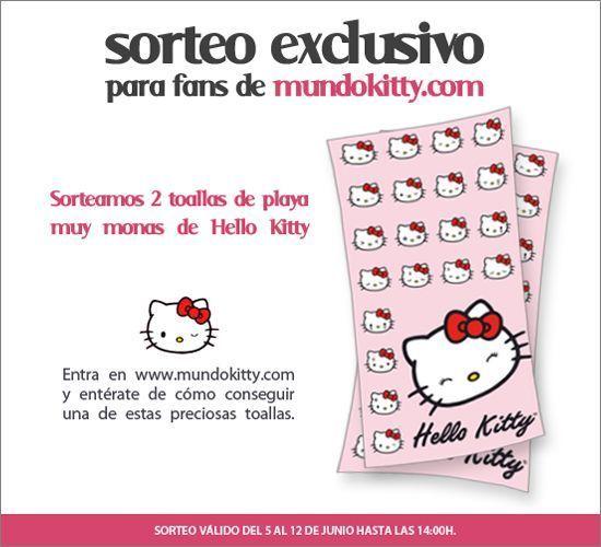banner sorteo toallas kitty