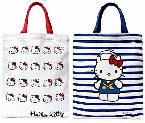 bolsos kitty blanco