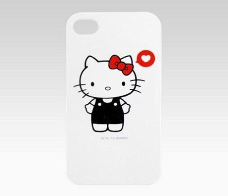 Carcasa blanca Hello Kitty
