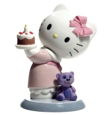 Hello Kitty de porcelana