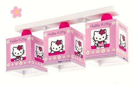 lamparas hello kitty tres luces