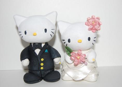 Muñecos boda Hello Kitty