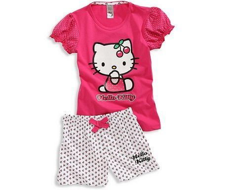 pijamas hello kitty cya cerezas