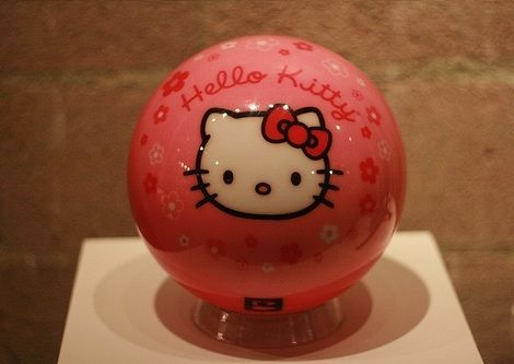 productos hello kitty graciosos bola
