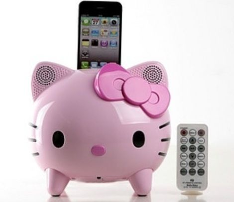productos hello kitty graciosos dock
