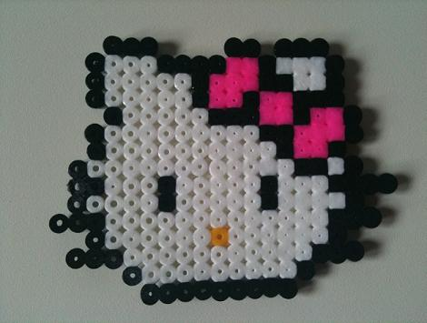Pyssla Hello Kitty