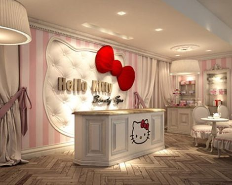 spa hello kitty recepcion