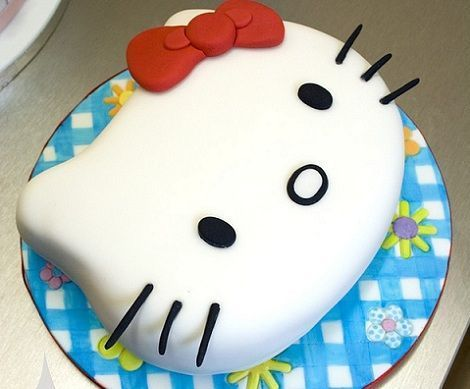 tartas hello kitty cumples cara