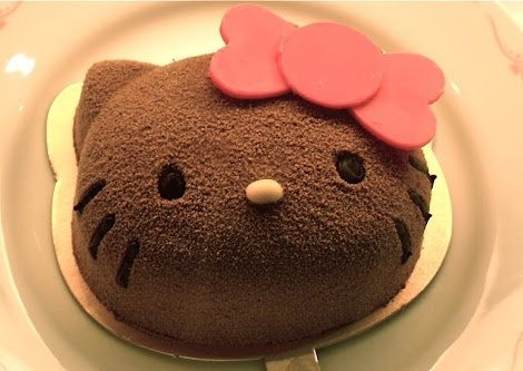 tartas hello kitty cumples chocolate
