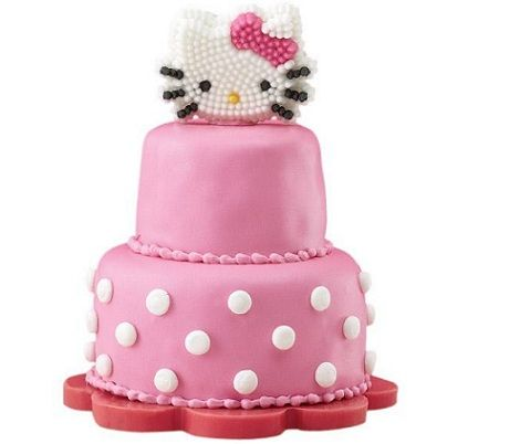 tartas hello kitty cumples lunares
