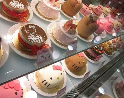 tartas hello kitty cumples