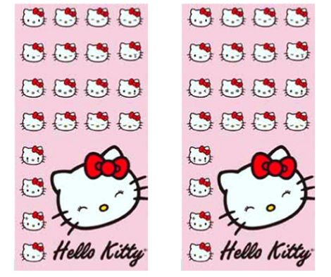 toallas hello kitty
