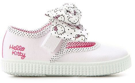zapatos zara hello kitty deportivas lazo