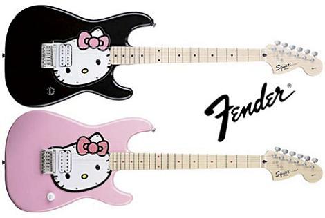 Guitarra Hello Kitty
