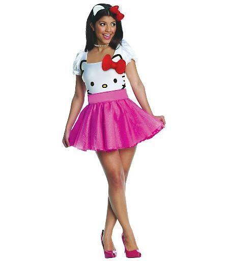 Disfraz Hello Kitty adulto