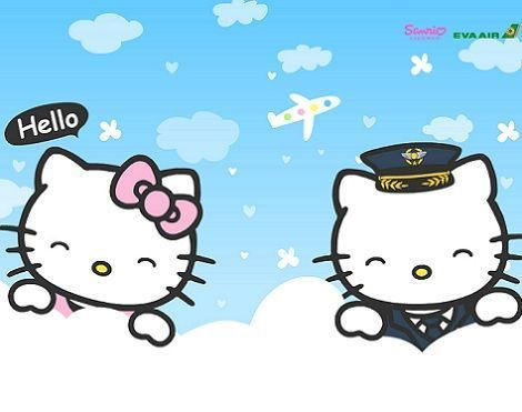 fotos hello kitty aire