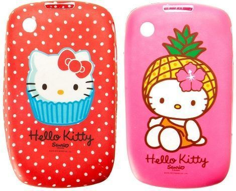 fundas movil hello kitty blanco lunares