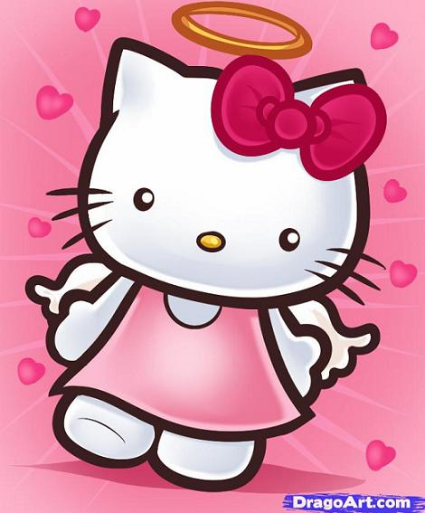 Hello Kitty de ángel
