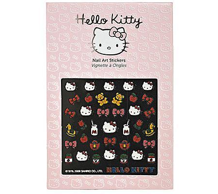 hello kitty unas pegatinas sephora
