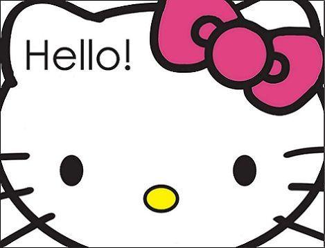 invitaciones hello kitty cara