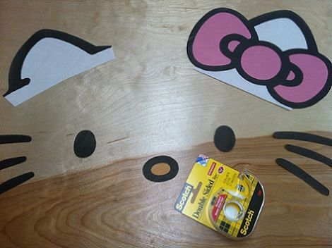 lampara hello kitty partes