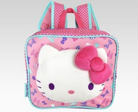 mochilas hello kitty pequena