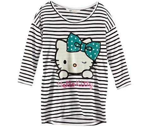 ropa hello kitty hm jersey