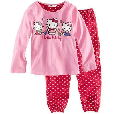 ropa hello kitty hm pijama
