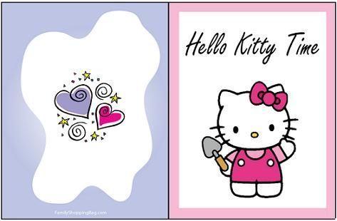 Tarjeta Hello Kitty
