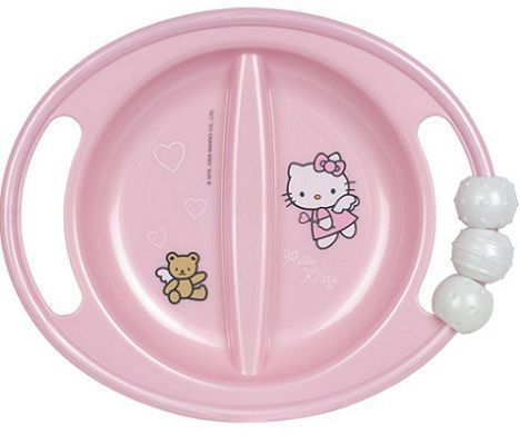 vajilla bebe hello kitty plato