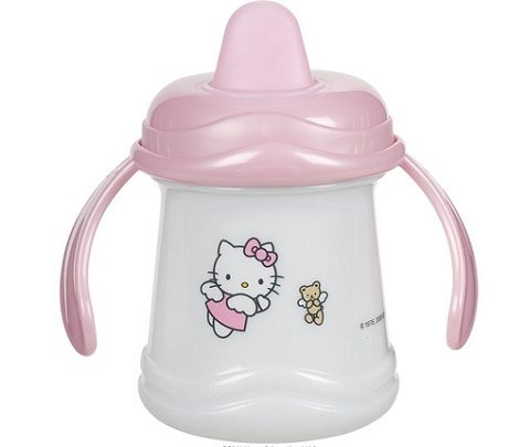 vajilla bebe hello kitty vaso