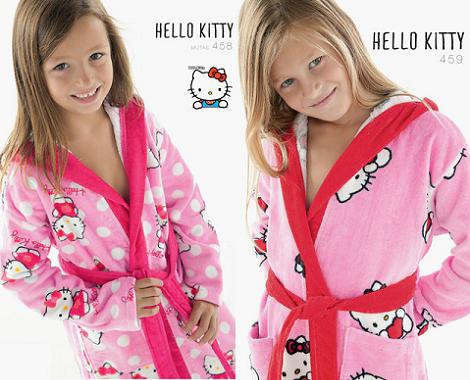 Albornoces Hello Kitty